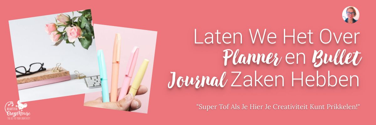 Nederlands Bullet Journal Planner Blog Wie Is Beautifulgreymouse