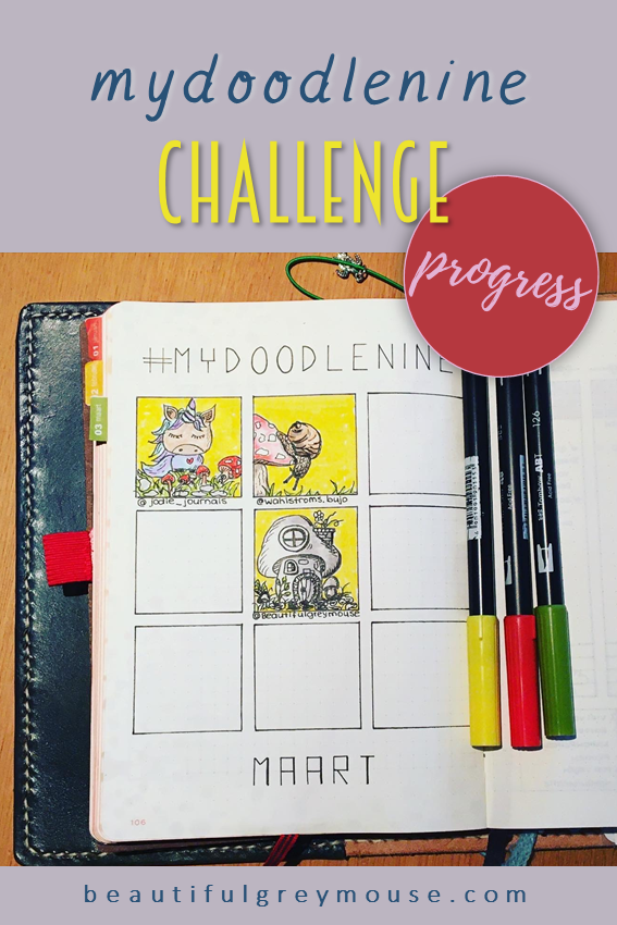 The Process of The Mydoodlenine Challenge