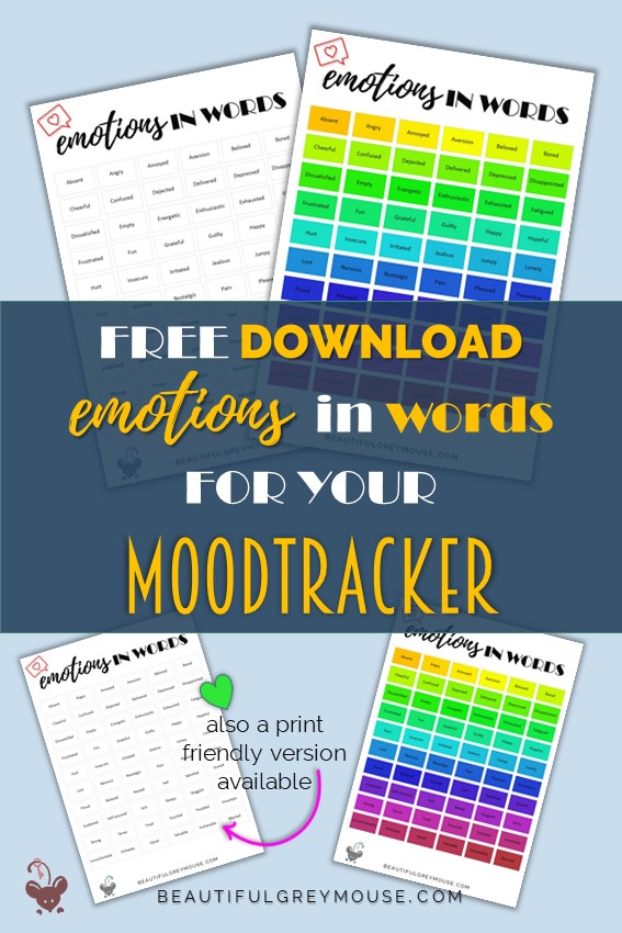 Free download with emotions in words