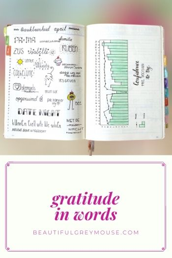 Words of gratitude for your planner
