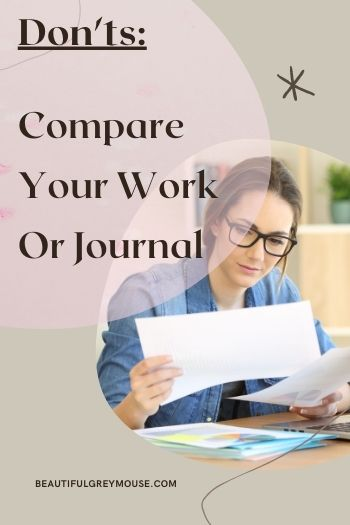 Don't Compare Your Planner to Others