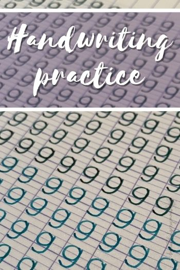 Letter exercises to improve your handwriting