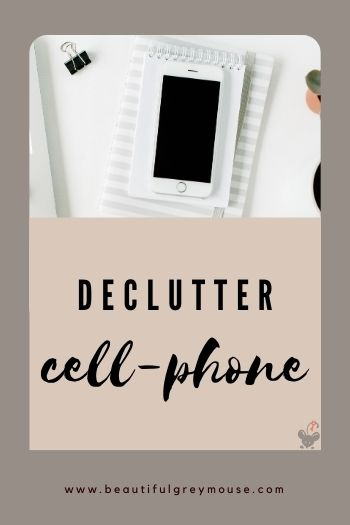 Making your phone digitally clutter-free