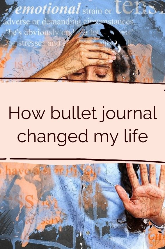 How a bullet journal changed my life after burnout