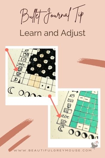 Learn and customize your tracker or goal in your bullet journal